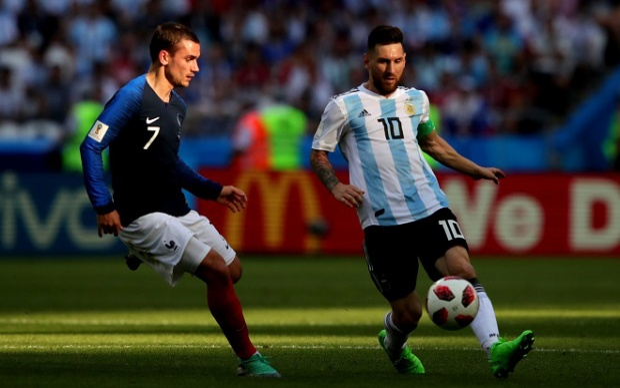 Messi cùng đồng đội đã có trận đấu hết sức quả cảm. Ảnh: Fifa.com.