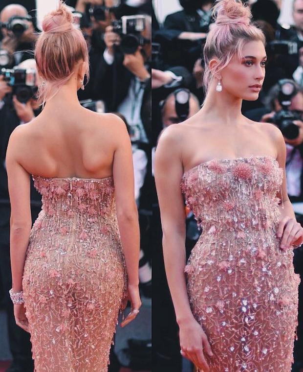 Đầm cúp ngực cũng là item yêu thích của cô. Quyến rũ, đơn giản là hai cụm từ miêu tả chính xác nhất gu ăn mặc của bạn gái Justin Bieber.