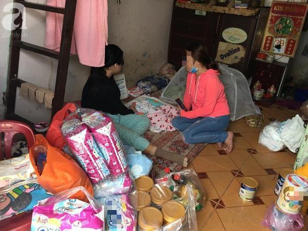 Một số mạnh thường quân cũng tìm đến giúp đỡ cho gia đình bé Trang.