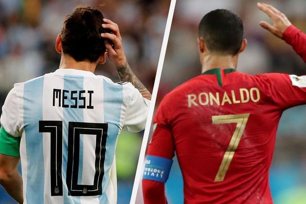 Quá nhanh quá nguy hiểm: Hủ nữ đã chế ảnh yêu đương của Messi và CR7 rồi đây này!