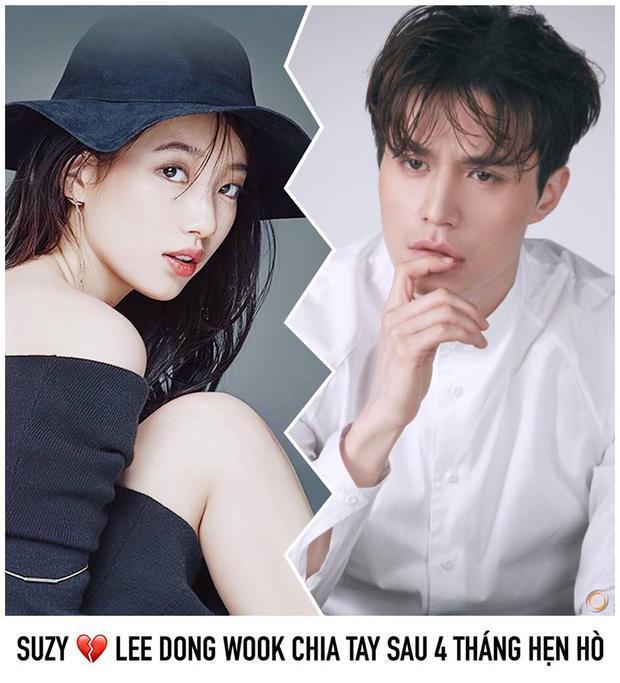 Suzy - Lee Dong Wook chia tay sau 4 tháng hẹn hò.