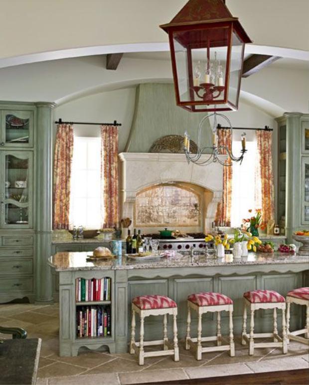 Bạn sẽ nghĩ đây là nhà bếp trong một lâu đài sang trọng nào đó? Rất có thể.