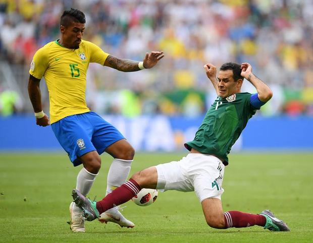 Brazil đã chơi rất hay trước Mexico. Ảnh: FIFA