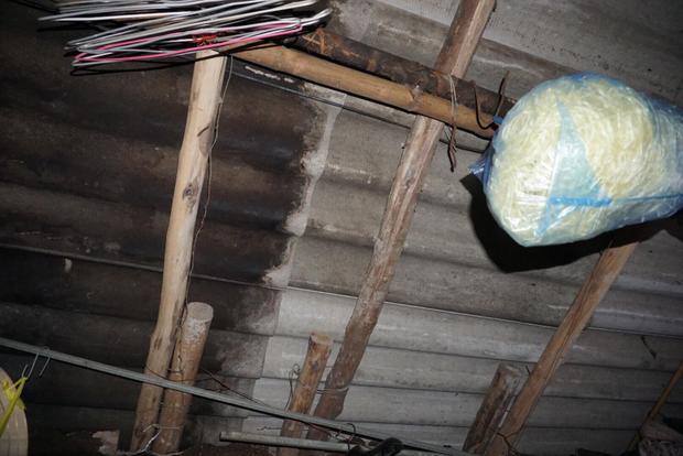 Do là mái pro ximăng nên căn nhà trọ rất nóng.