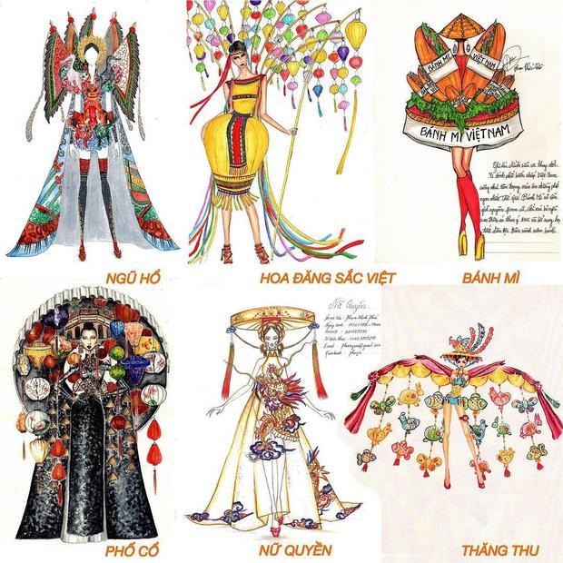 Hình ảnh cho top 6 thiết kế trang phục truyền thống với những chủ đề hết sức ấn tượng.