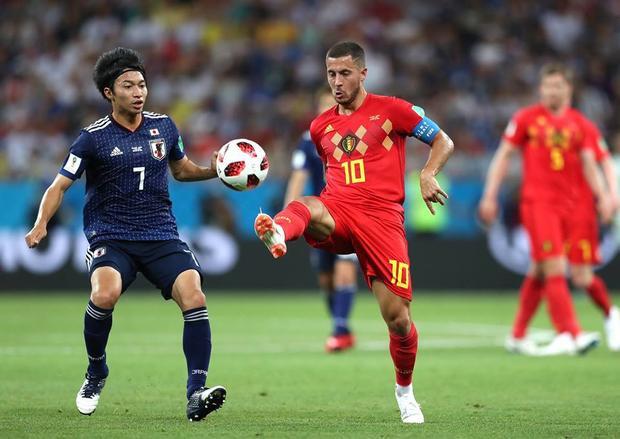 Nhật thua Bỉ khi không mang tâm thế kẻ làm mọi giá để đi tiếp. Ảnh: FIFA