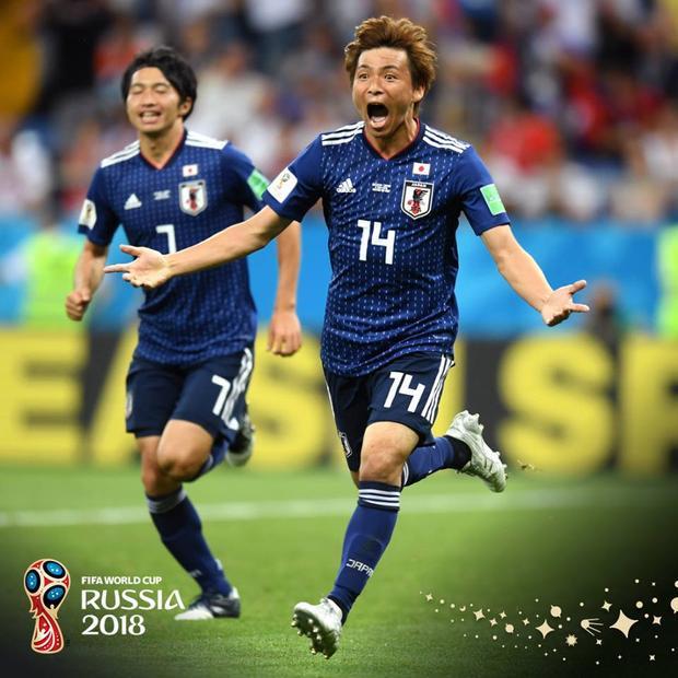 Nhật đã có cơ hội rất lớn giành vé vào tứ kết. Ảnh: FIFA