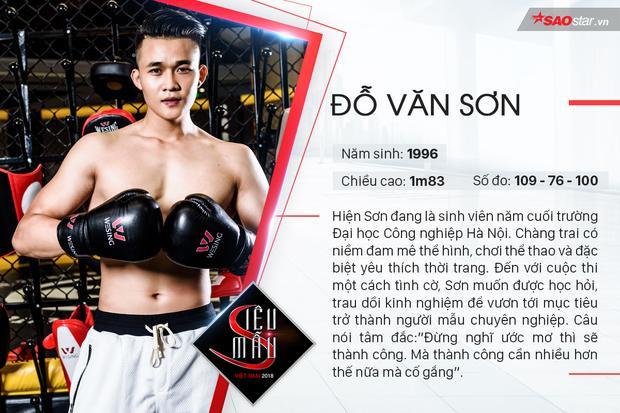 Top 5 nam thần vạn người mê của Siêu mẫu Việt Nam 2018  khu vực miền Bắc