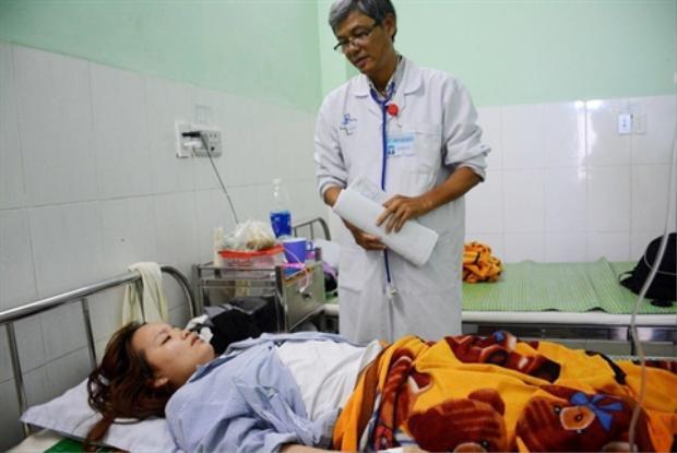 Cô Mai hiện vẫn đang điều tra tại bệnh viện. Ảnh: Dân Trí.