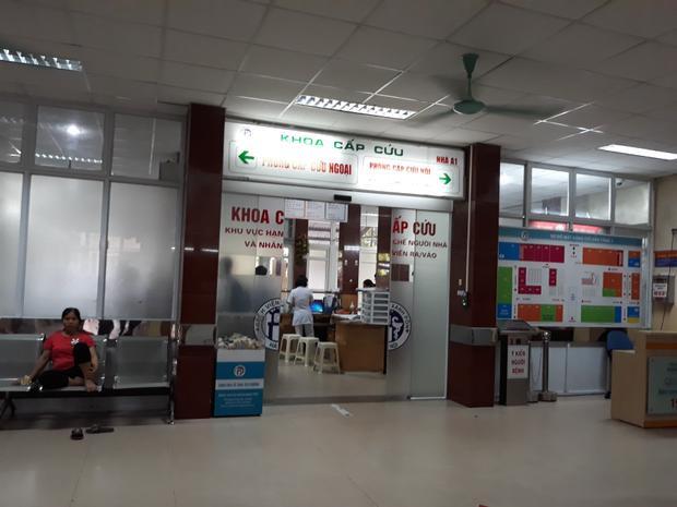 Bệnh viện Xanh Pôn, nơi 2 mẹ con chị H. được chuyển xuống.
