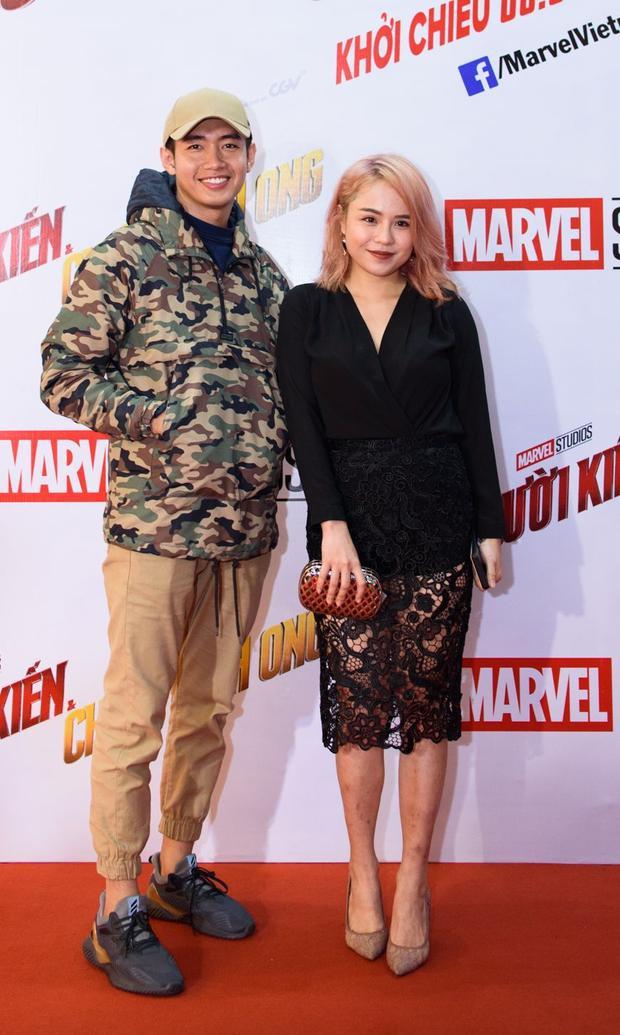 Quang Đăng và Thái Trinh.