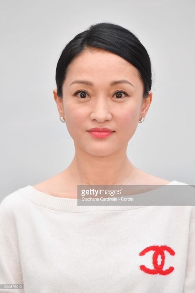 """Nhan sắc hơi """"dừ"""" của diễn viên Châu Tấn."""