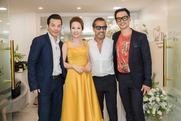 Doanh nhân Phượng Nguyễn hội ngộ diễn viên - nhà sản xuất phim Trần Bảo Sơn, Fashionista Thuận Nguyễn và cựu người mẫu - diễn viên Đức Hải.