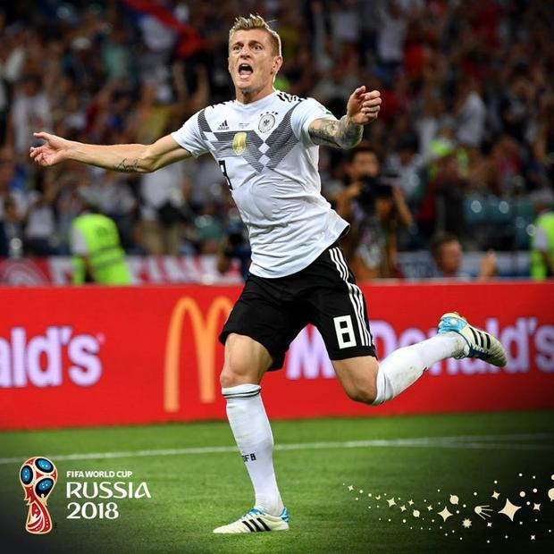 Toni Kroos liệu có giã từ tuyển Đức? Ảnh: FIFA