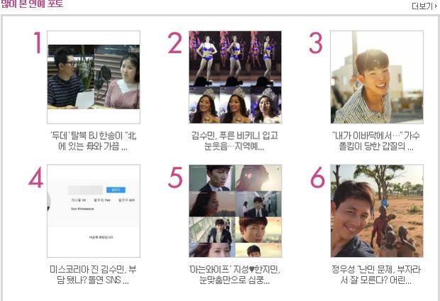 Chưa đầy 3 giờ đồng hồ, bài viết về teaser của bộ phim đứng trong TOP 5 bài viết được xem nhiều nhất.