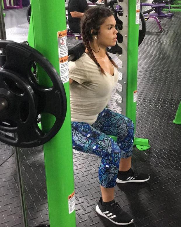 Mỗi ngày Jessica dành ra 2 tiếng để luyện tập và sự kiên trì thay đổi lối sống của cô cũng đã tạo ra được sự thay đổi tích cực rõ rệt.