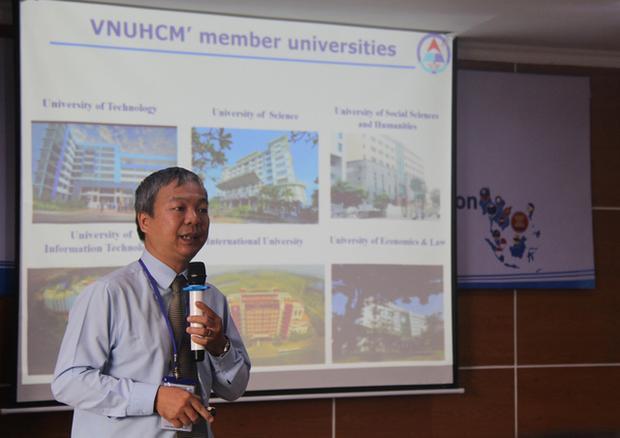 Tiến sĩ Nguyễn Quốc Chính, giám đốc Trung tâm khảo thí và đánh giá chất lượng đào tạo, ĐH Quốc gia TPHCM