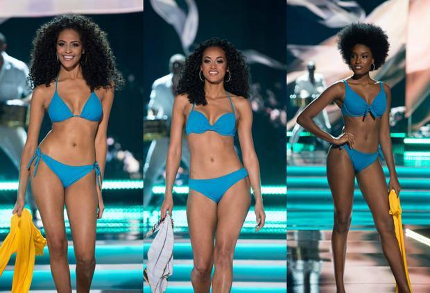 """Còn nhớ ở kỳ Miss Universe 2017, hàng loạt những mỹ nhân sở hữu mái tóc xoăn """"mì gói"""" như Brazil, USA, Jamaica… đã khá thành công khi đạt được thành tích nhất định."""