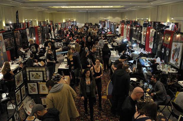 Mỗi Tattoo Expo đều là một dịp để gặp gỡ, không chỉ trong giới thợ xăm mà còn là của cả những người có chung lối sống tự do.