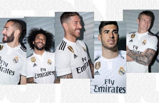 Ronaldo không còn xuất hiện trên trang bán áo đấu của Real.