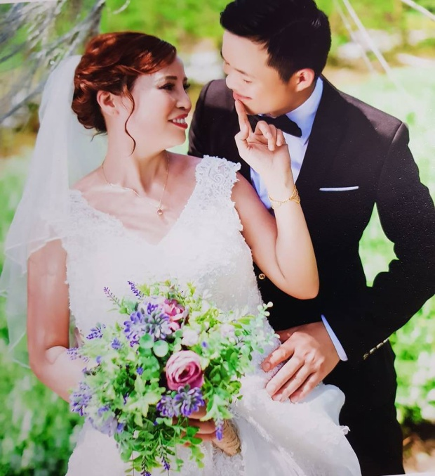 Gần đây, họ đã chụp ảnh cưới cùng nhau ở Hà Nội.