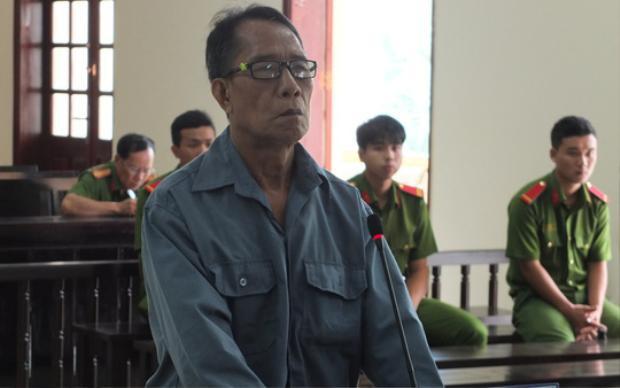 Bị cáo Huỳnh Văn C. Ảnh: Người Lao Động.