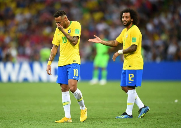 Nước mắt Neymar trong ngày Brazil bị loại khỏi World Cup 2018. Ảnh: FIFA
