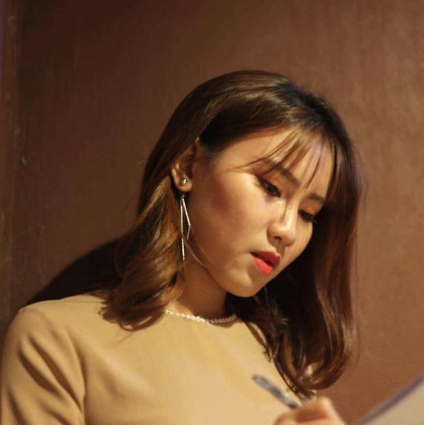 Bùi Ngọc Ánh - sinh viên năm ba khoa Xuất bản (Học viện Báo chí và Tuyên truyền).