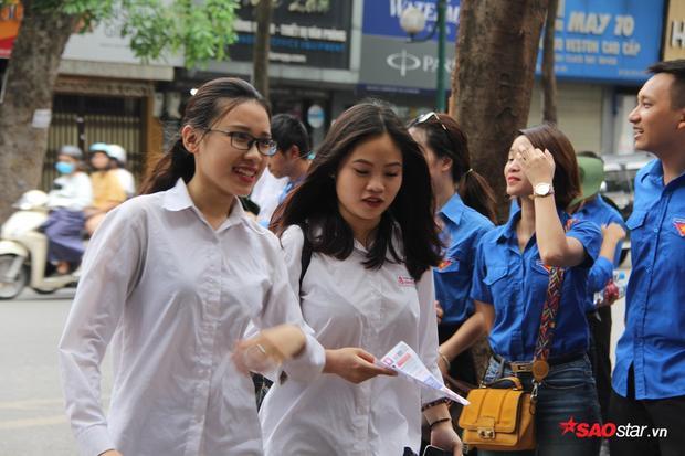 Thí sinh tham dự kỳ thi THPT quốc gia.