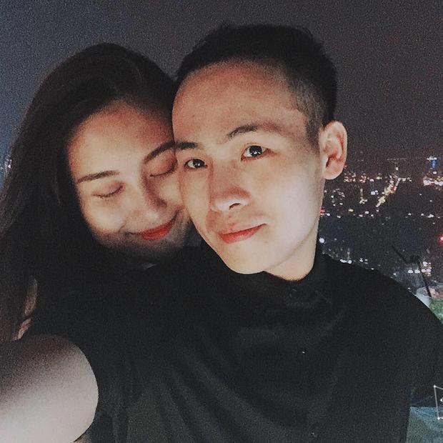 Hà Lade khi còn hạnh phúc bên Hà Quang Dũng.