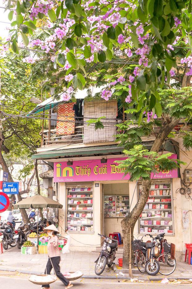Một góc phố Hà Nội yên bình qua ống kính của chủ nhân blog For 91 Days - Ảnh: NVCC