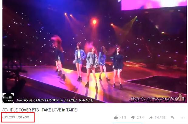 Dù chỉ mới đăng tải chưa đầy 1 ngày nhưng fancam này đã nhanh chóng đạt hơn 600 000 view vì được cộng đồng fan Kpop lan truyền mạnh mẽ.