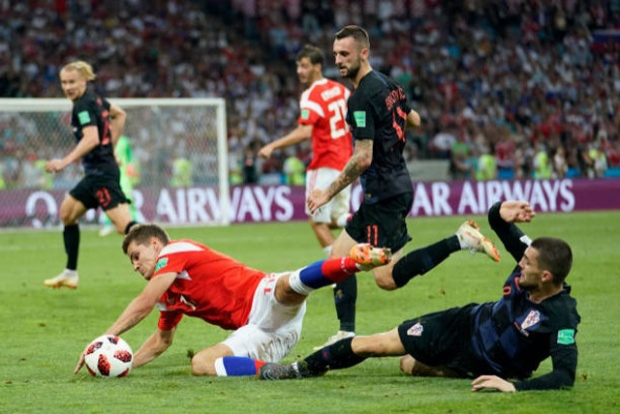 Ở cuộc chạm trán với Croatia diễn ra vào tối qua, ĐT Nga đã xuất sắc cầm hòa đối thủ với tỷ số 2-2 sau 120 phút thi đấu.