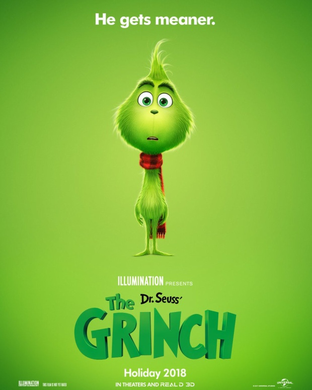 Poster của The Grinch.