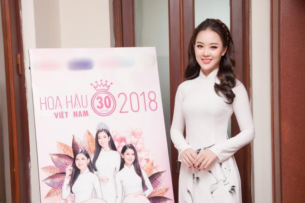 Thí sinh Hoàng Hải Thu - Người đẹp tài năng Hoa hậu Hoàn vũ Việt Nam 2017 cũng trở lại với Hoa hậu Việt Nam.