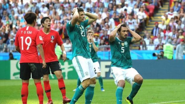 Đương kim vô địch Đức khỏi World Cup 2018 gây sốc cho không ít người hâm mộ