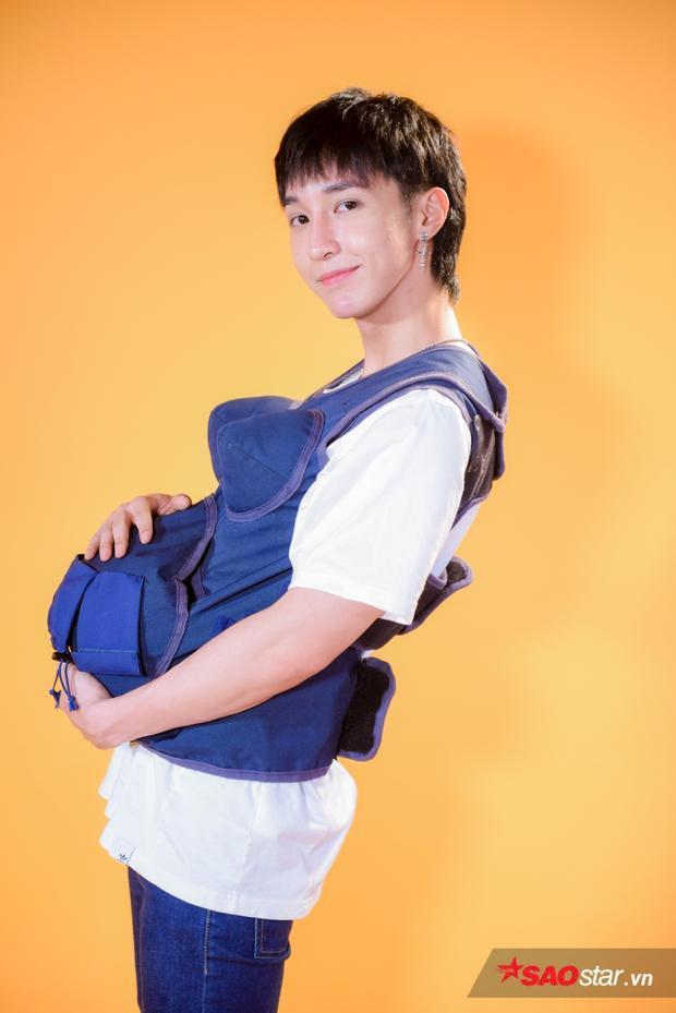 Biểu cảm khó đỡ của Ali Hoàng Dương  Key (Monstar) khi lần đầu tiên mang bầu