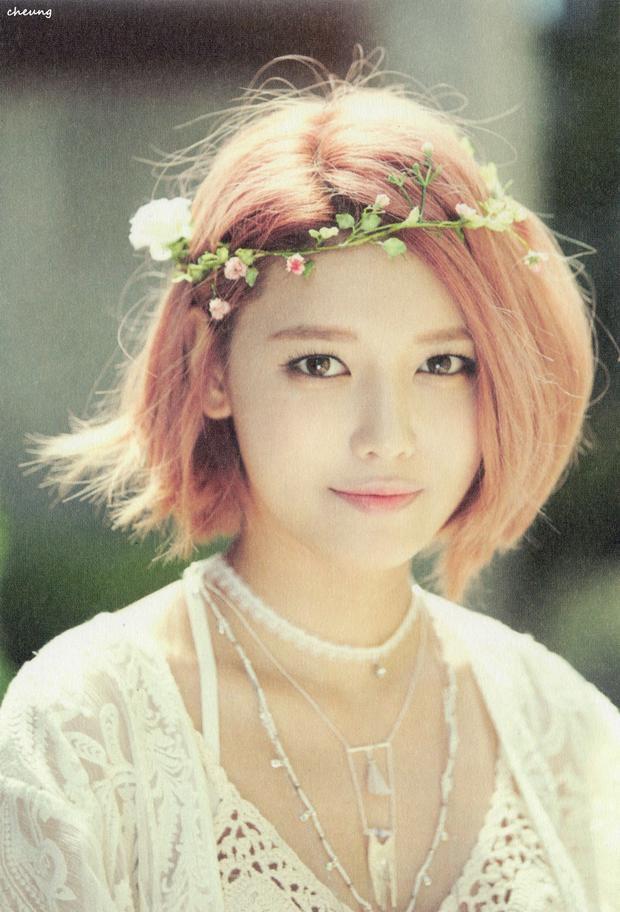 Sooyoung giống như một nữ thần trong thần thoại Hy Lạp.