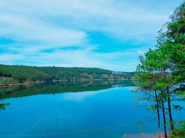 Biển hồ Pleiku (Ảnh: Phương Phương)