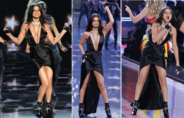 Phong cách thời trang trên sân khấu cũng nóng bỏng, sexy không kém.