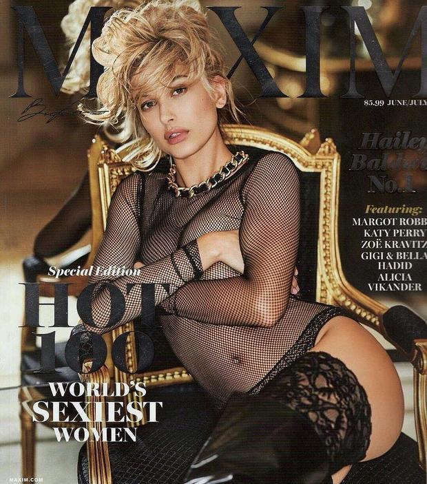 Xuất thân là người mẫu nên Hailey Baldwin luôn khiến người ta mê mẩn bởi vẻ nóng bỏng, táo bạo mỗi lần xuất hiện trên tạp chí.
