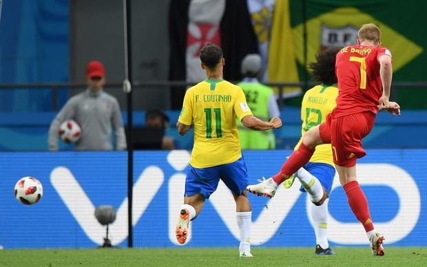 De Bruyne đang trở thành ngòi nổ của ĐT Bỉ. Ảnh: Fifa.com.
