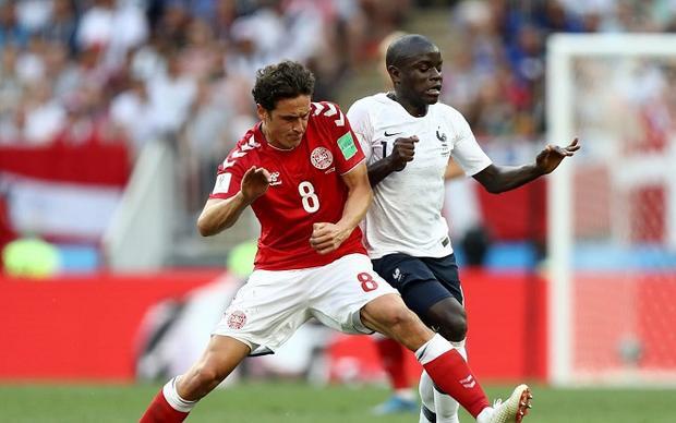 Kante đang trở thành máy quét số 1 tại World cup 2018. Ảnh: Fifa.com.