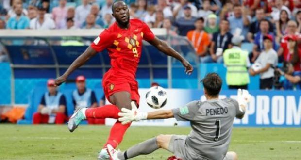 Khác với hình ành thường thấy trước đây về 1 tiền đạo vụng về, Lukaku tại World Cup 2018 đã lột xác với những pha bóng tinh tế như khi anh bấm bóng ghi bàn vào lưới Panama.