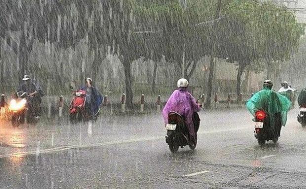 Nhiều nơi trên cả nước tiếp tục có mưa trong hôm nay. Ảnh minh họa.