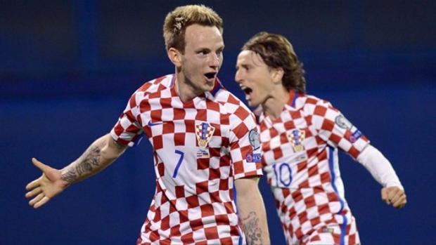 Rakitic và Modric từ lâu đã là xương sống của ĐT Croatia.