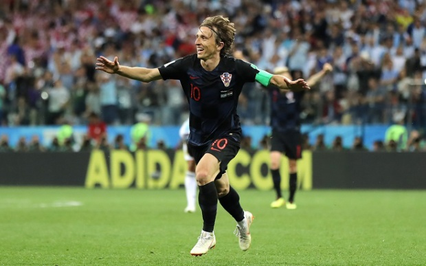 Modric đã giúp ĐT Croatia có được thành công tính đến thời điểm này. Ảnh: Fifa.com.