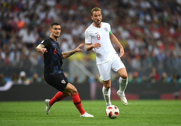 Kane là nỗi thất vọng của tuyển Anh trước Croatia. Ảnh: FIFA