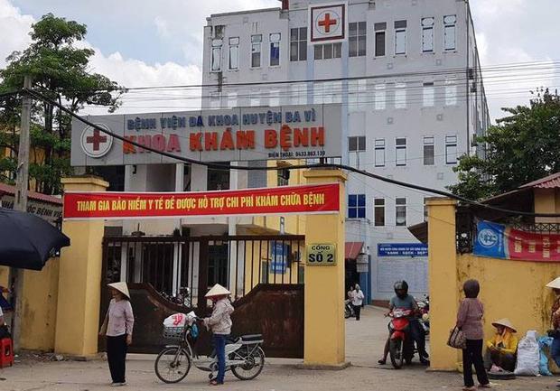 Bệnh viện đa khoa Ba Vì.