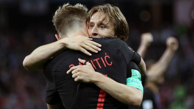 Luka Modric và Ivan Rakitic là cặp đôi hoàn hảo.